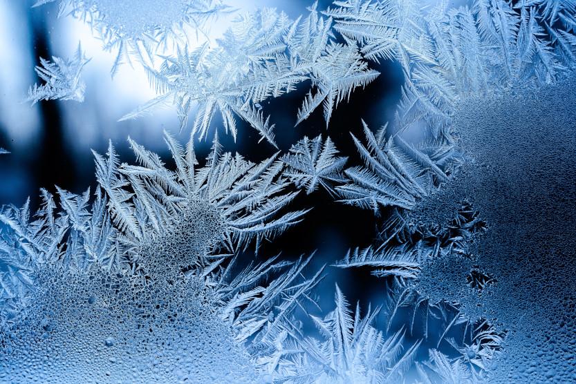 Frost und Eis